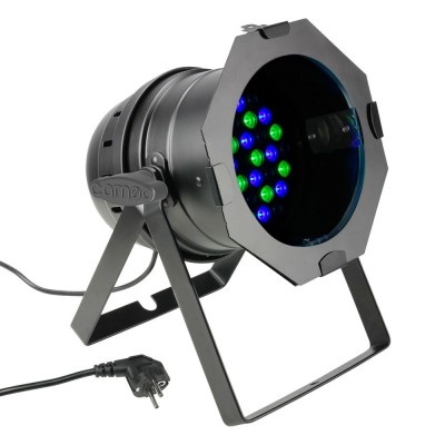 CAMEO 36 X 3 W LED RGB PAR LIGHT IN BLACK HOUSING