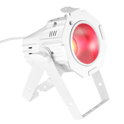 CAMEO 30W COB LED PAR CAN RGB IN WHITE HOUSING