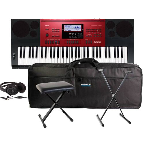 CASIO CTK-6250 DELUXE BUNDLE