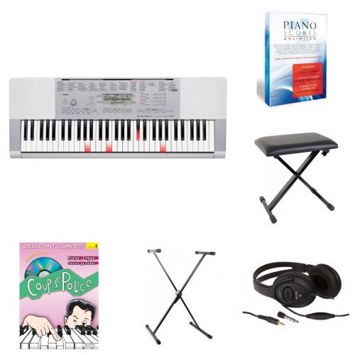 CASIO LK-280 BEGINNER BUNDLE