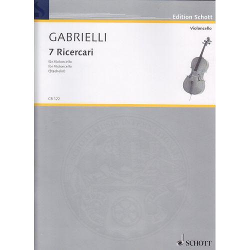 SCHOTT GABRIELLI DOMENICO - Seven Ricercari