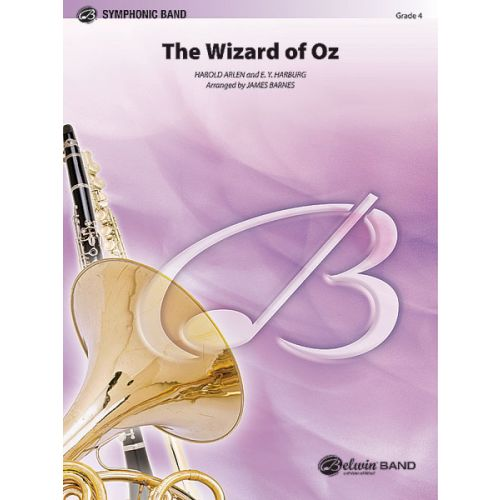 ALFRED PUBLISHING HARBURG AND ARLEN - WIZARD OF OZ - SYMPHONIC WIND BAND