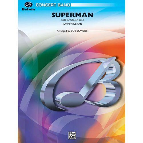 ALFRED PUBLISHING WILLIAMS JOHN - SUPERMAN - SYMPHONIC WIND BAND
