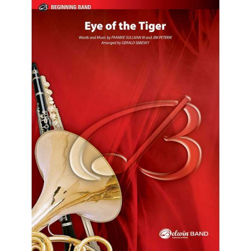 ALFRED PUBLISHING SULLIVAN PETERIK - EYE OF THE TIGER - SYMPHONIC WIND BAND