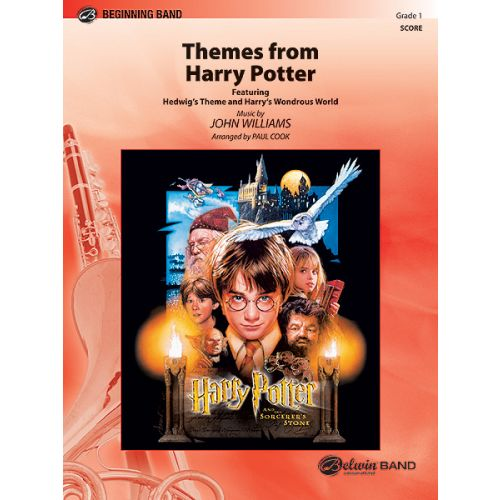 ALFRED PUBLISHING WILLIAMS JOHN - HARRY POTTER, THEMES FROM - SYMPHONIC WIND BAND