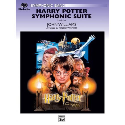 ALFRED PUBLISHING WILLIAMS JOHN - HARRY POTTER, SYMPHONIC SUITE - SYMPHONIC WIND BAND