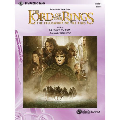 ALFRED PUBLISHING SHORE HOWARD - LORD OF THE RINGS: FELLOWSHIP ,RING - SCORE