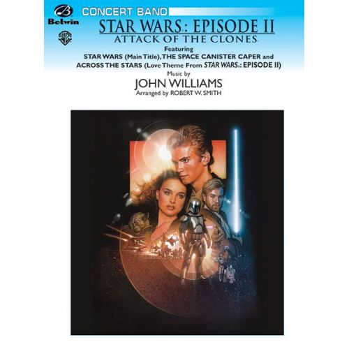 ALFRED PUBLISHING WILLIAMS JOHN - STAR WARS ATTACK OF THE CLONES - SYMPHONIC WIND BAND