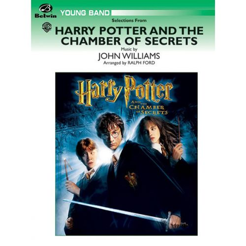 ALFRED PUBLISHING WILLIAMS JOHN - HARRY POTTER - CHAMBER OF SECRETS - SYMPHONIC WIND BAND