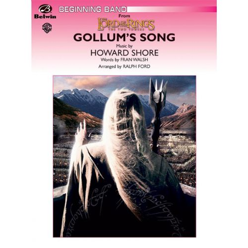 ALFRED PUBLISHING SHORE HOWARD - GOLLUM'S SONG - SYMPHONIC WIND BAND