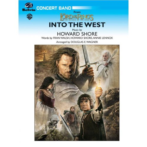 ALFRED PUBLISHING WAGNER DOUGLAS E. - INTO THE WEST - SYMPHONIC WIND BAND