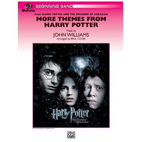 ALFRED PUBLISHING WILLIAMS JOHN - HARRY POTTER, MORE THEMES - SYMPHONIC WIND BAND
