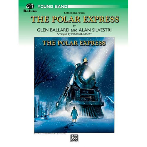ALFRED PUBLISHING STORY MICHAEL - POLAR EXPRESS, SELECTIONS FROM - SYMPHONIC WIND BAND