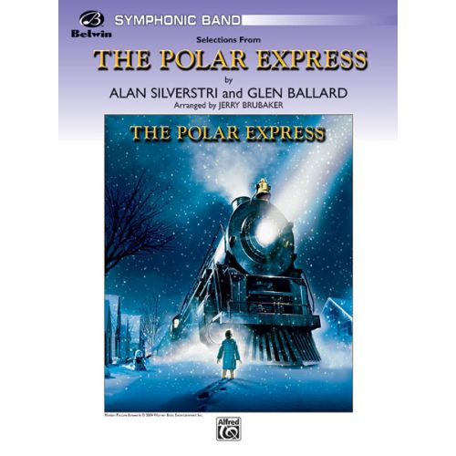 ALFRED PUBLISHING BRUBAKER JERRY - POLAR EXPRESS, CONCERT SUITE - SYMPHONIC WIND BAND