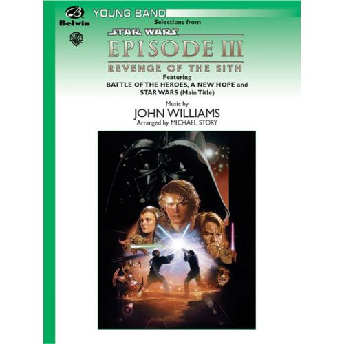 ALFRED PUBLISHING WILLIAMS JOHN - STAR WARS REVENGE OF THE SITH - SYMPHONIC WIND BAND