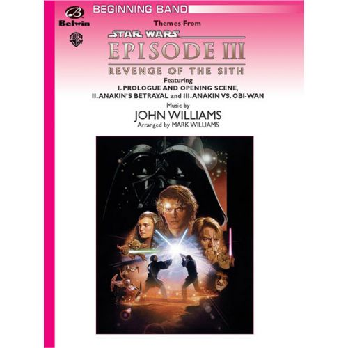 ALFRED PUBLISHING WILLIAMS JOHN - STAR WARS - REVENGE OF THE SITH - SYMPHONIC WIND BAND