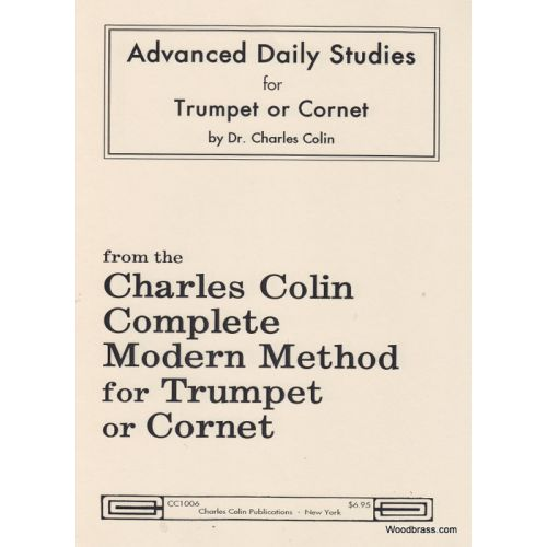 CHARLES COLIN MUSIC COLIN CHARLES - ADVANCED DAILY STUDIES - TROMPETTE