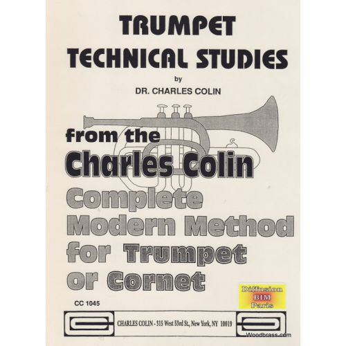 CHARLES COLIN MUSIC COLIN CHARLES - TRUMPET TECHNICAL STUDIES - TROMPETTE