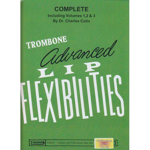 CHARLES COLIN MUSIC COLIN CH. - ADVANCED LIP FLEXIBILITIES - TROMBONE