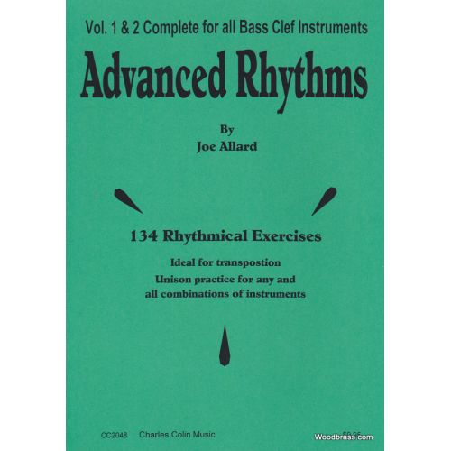 CHARLES COLIN MUSIC ALLARD JOE - ADVANCED RYTHMS - TROMBONE