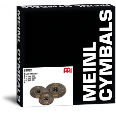 MEINL CCD141620 - CLASSIC CUSTOM DARK SET 14