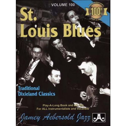AEBERSOLD AEBERSOLD N°100 - ST LOUIS BLUES + CD