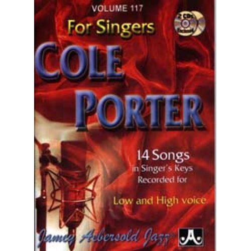 AEBERSOLD AEBERSOLD N°117 - COLE PORTER FOR SINGERS + CD