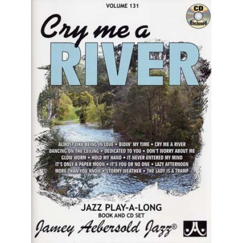 AEBERSOLD AEBERSOLD 131 CRY ME A RIVER + CD