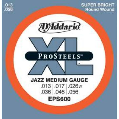 D'ADDARIO AND CO PROSTEEL EPS600 13 17 26 36 46 56
