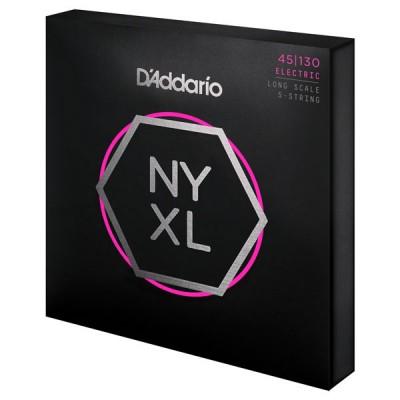 D'ADDARIO AND CO NYXL REGULAR LIGHT 5-STRING, 45-130