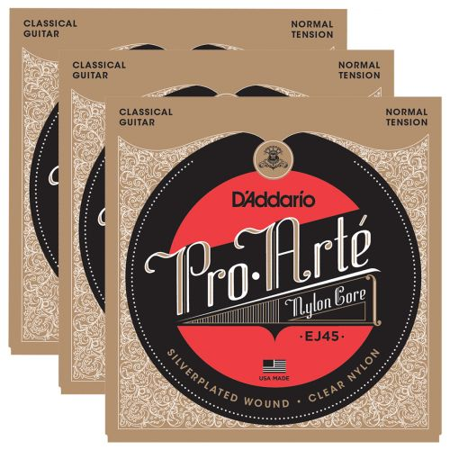 D'ADDARIO AND CO KONZERT3 PACK EJ45