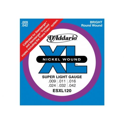D'ADDARIO AND CO ESXL120 9-42 DOUBLE BALL END