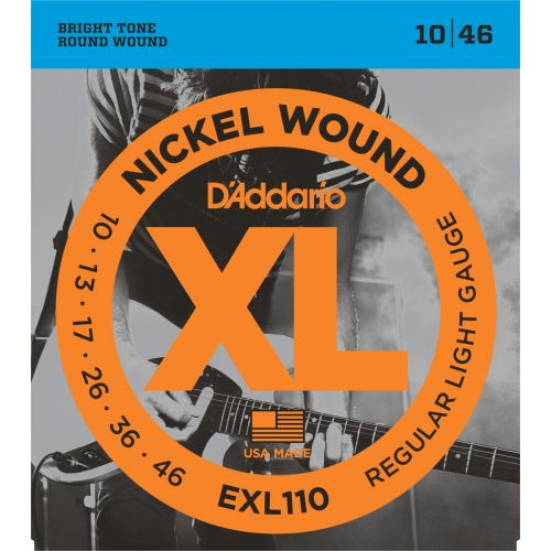 D'ADDARIO AND CO EXL 110 10 13 17 26 36 46