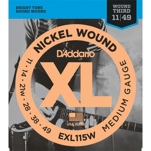 D'ADDARIO AND CO EXL115W