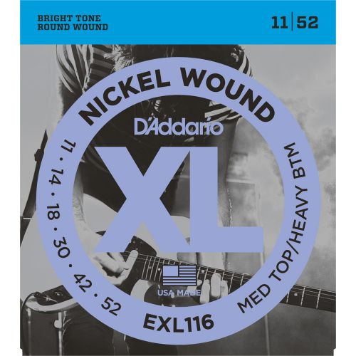 D'ADDARIO AND CO EXL116 MTHB 11-52