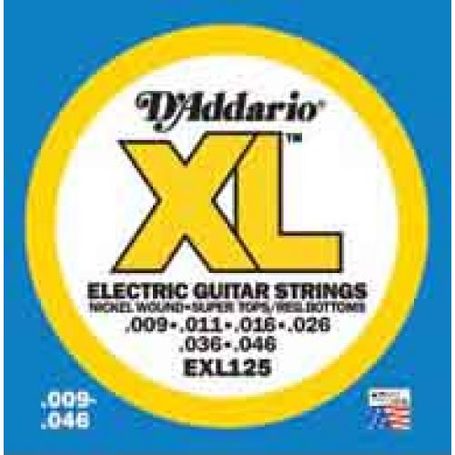 D'ADDARIO AND CO EXL125 09 11 16 26 36 46