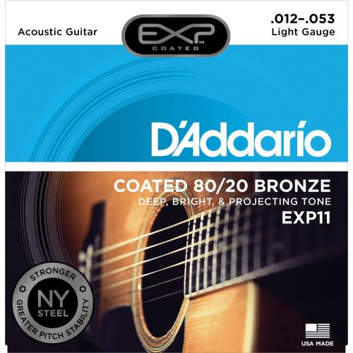 D'ADDARIO AND CO EXP11NY BRONZE 80/20 LIGHT 12-53