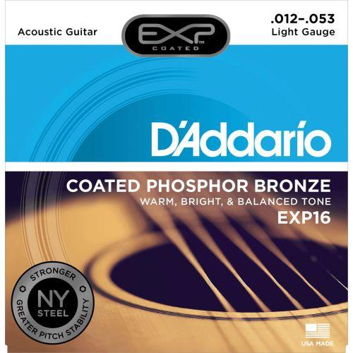 D'ADDARIO AND CO EXP16 NY 12-53 LIGHT PHOSPHOR BRONZE
