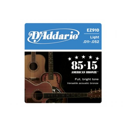 D'ADDARIO AND CO EZ900 AMERICAN BRONZE 85/15 EXTRA LIGHT 10-50