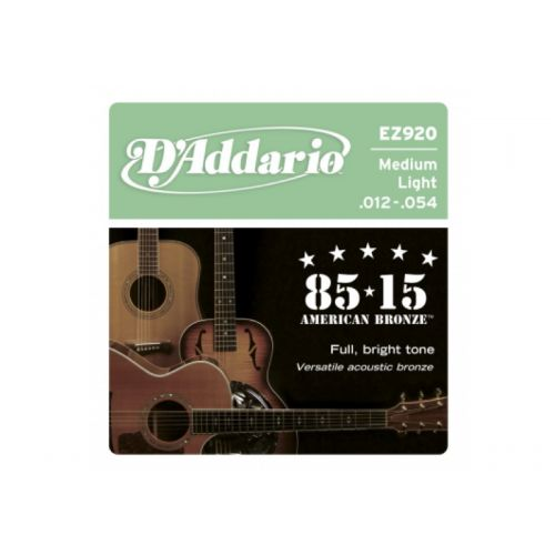D'ADDARIO AND CO EZ920 AMERICAN BRONZE 85/15 MEDIUM LIGHT 12-54