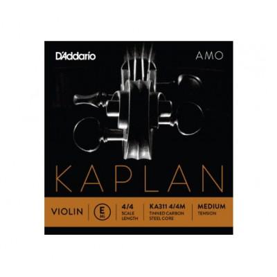 D'ADDARIO AND CO 4/4 KAPLAN AMO VIOLIN STRING SET MEDIUM TENSION