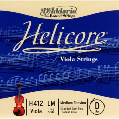 D'ADDARIO AND CO HELICORE VIOLA SINGLE D STRING LONG SCALE MEDIUM TENSION