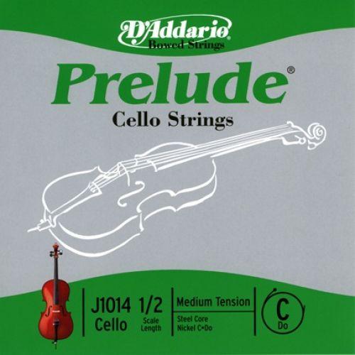 D'ADDARIO AND CO PRELUDE CELLO SINGLE C STRING 1/2 SCALE MEDIUM TENSION