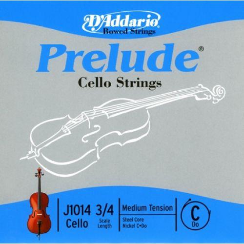 D'ADDARIO AND CO PRELUDE CELLO SINGLE C STRING 3/4 SCALE MEDIUM TENSION
