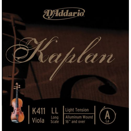 D'ADDARIO AND CO KAPLAN VIOLA SINGLE A STRING LONG SCALE LIGHT TENSION