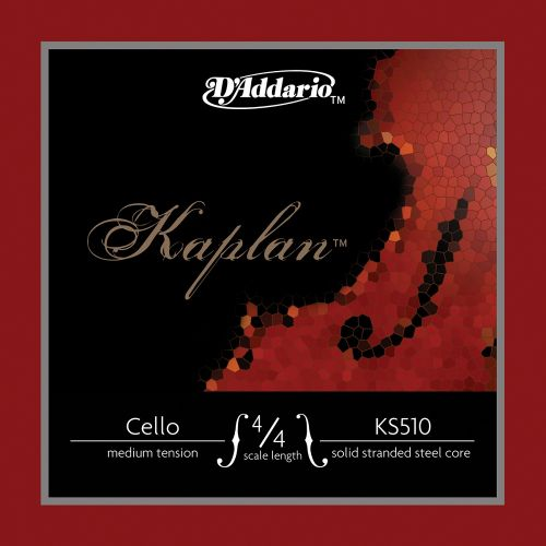 D'ADDARIO AND CO KAPLAN CELLO STRING SET 4/4 SCALE MEDIUM TENSION