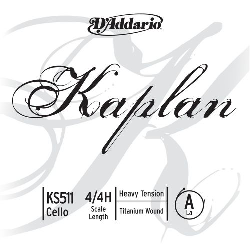 D'ADDARIO AND CO KAPLAN CELLO SINGLE A STRING 4/4 SCALE HEAVY TENSION