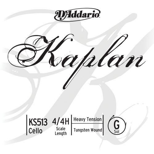 D'ADDARIO AND CO 4/4 KAPLAN CELLO SINGLE G STRING SCALE HEAVY TENSION