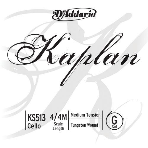 D'ADDARIO AND CO 4/4 KAPLAN CELLO SINGLE G STRING SCALE MEDIUM TENSION