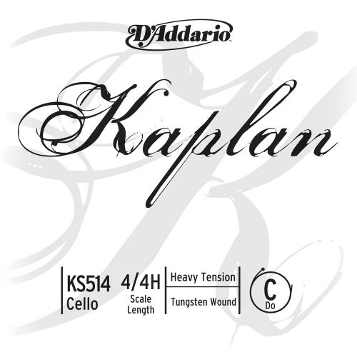 D'ADDARIO AND CO 4/4 KAPLAN CELLO SINGLE C STRING SCALE HEAVY TENSION